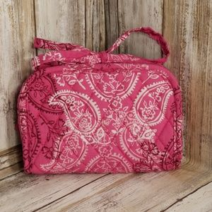 Vera Bradley Stamped Paisley Jewelry Case Travel